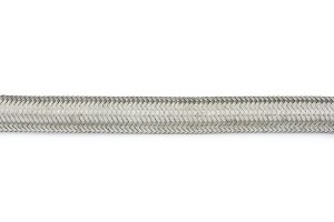 RaceFlux stainless steel braided Viton hose for fuel and oil, SAE J30 R9 rated